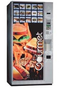 Автомат по продаже горячей и холодной пищи Gourmet