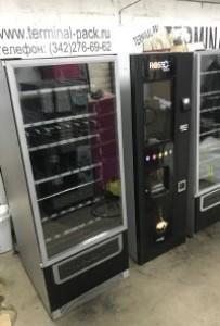 Комбинированный торговый автомат (кофейный и снековый) Rosso touch и foodbox slave БУ